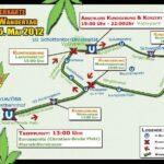 Hanfwandertag 2012 Route
